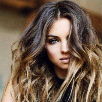 Balayage Ombre Hair Blond Dore Couleur Cheveux Caramel Cheveux