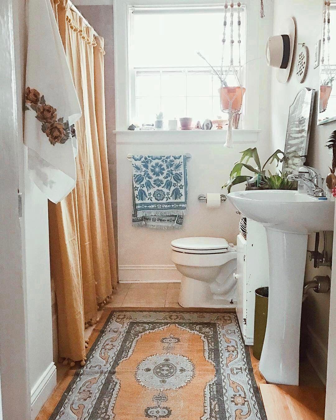 Boho Bathroom Urban Outfitters Urbanoutfitters On Instagram Sunday Am Views Via Lea Cute Bathroom Ideas Small Bathroom Decor Bathroom Design Small Modern