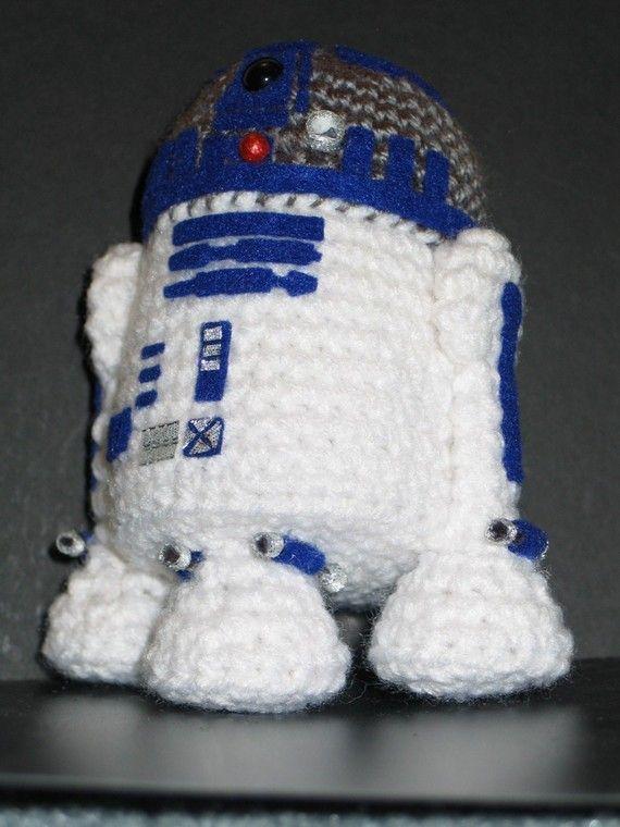 Excelente Patrón De Crochet R2d2 Modelo - Ideas de Patrones de ...
