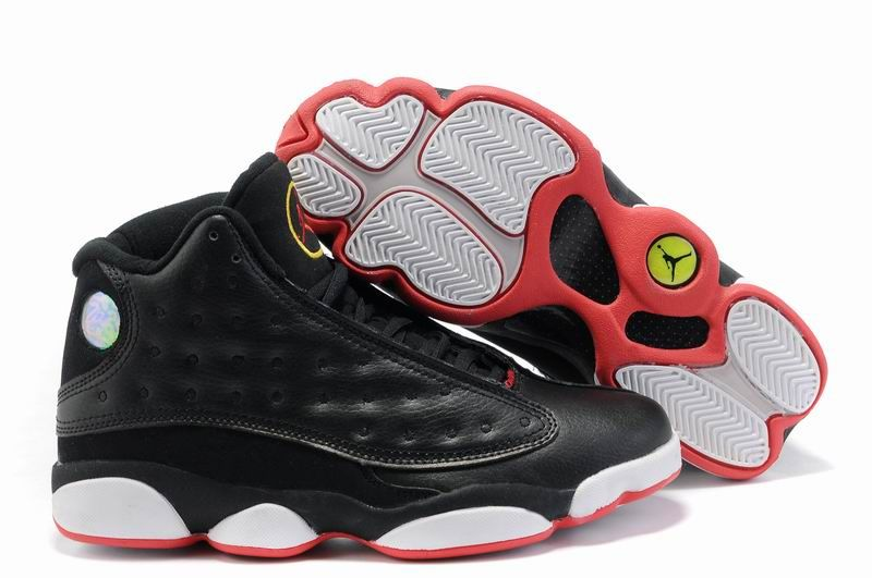 de3aa12e400255 Air Jordan 13 Retro Mens Red Black White