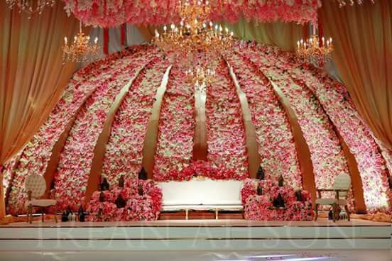 At Instagram Lovehappinessevents Wedding Stage Decorations