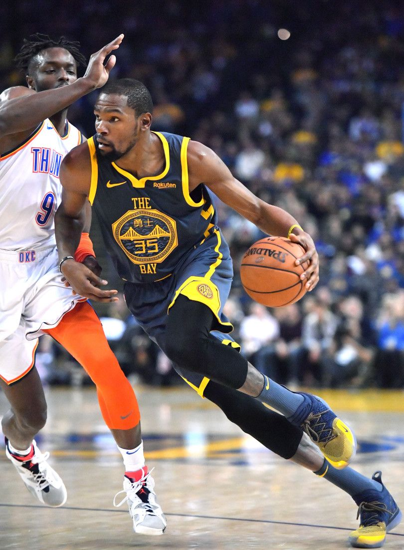 a43e56b35b Warriors sputter against Thunder without Curry   Green