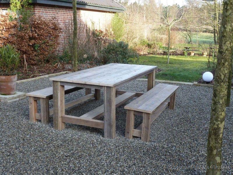 bauholz gartentisch gera ähnelt unserem modell schönberg, tisch, Gartenarbeit ideen