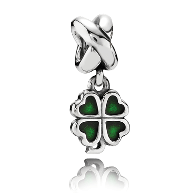 PANDORA | Trevo da Sorte Verde
