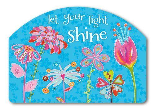 Let Your Light Shine Yard Design Magnetic Yard Art By Magnet Works