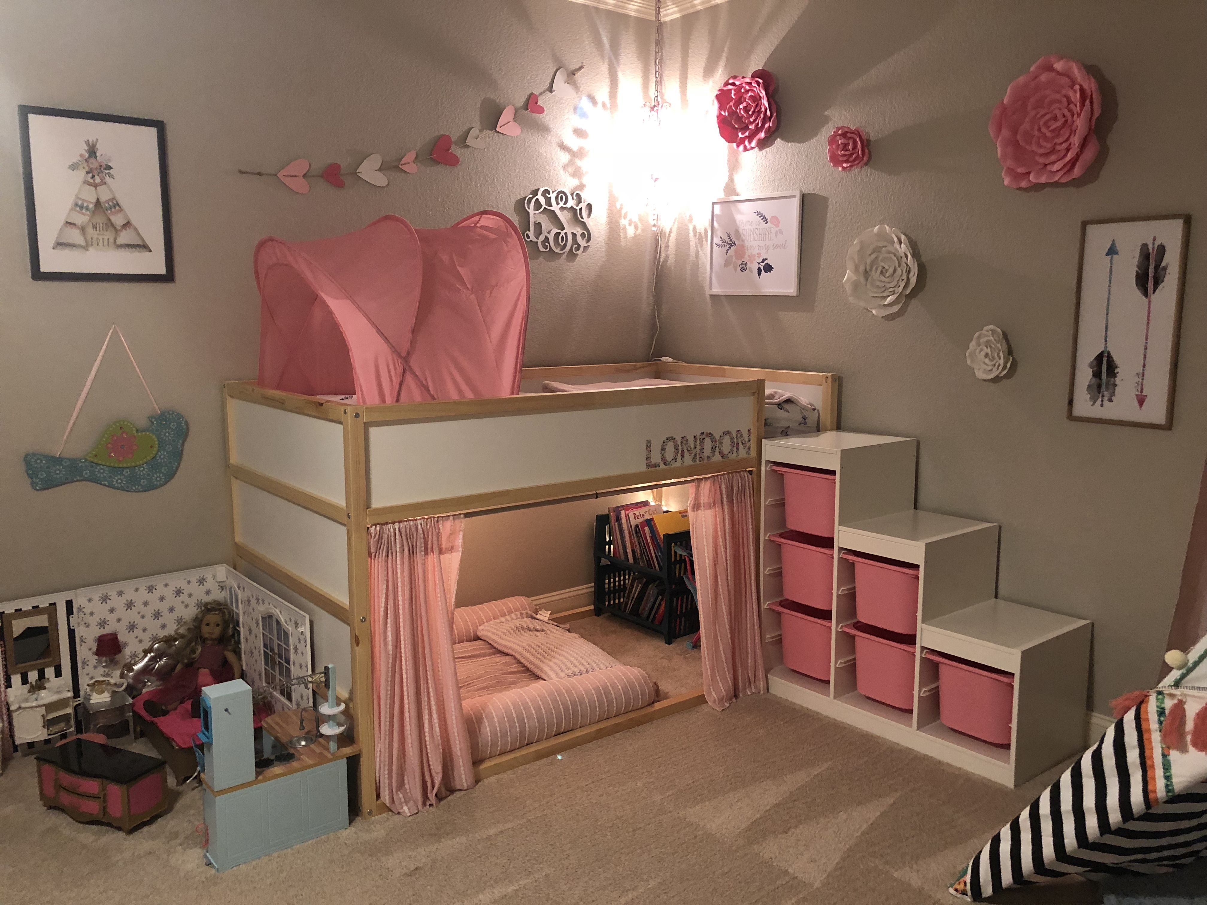 Ikea Kura Bed For London Is Finally Finished Kids Loft Beds Toddler Bedrooms Ikea Kids Bedroom