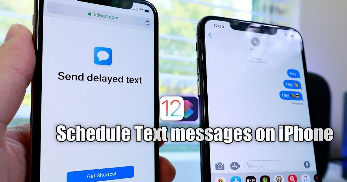 How To Schedule Text Message on iPhone With Siri Shortcuts