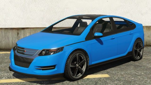 Blue Cheval Surge Front View Rockstar Gta 5 Chevrolet Volt Cars
