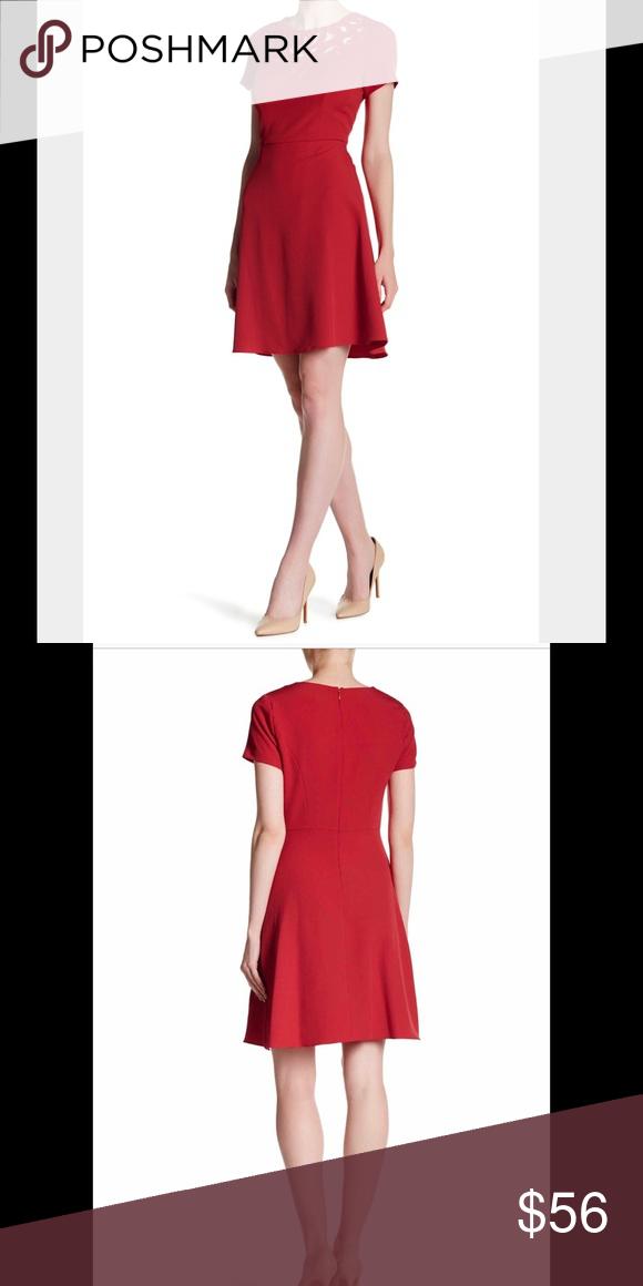 Adrianna Papell A Line Dress Nwt Dresses Neckline Designs A Line Dress
