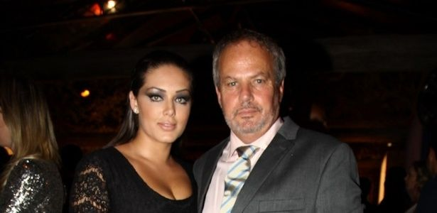 Tãnia Mara e Jayme Monjardim filho da cantora Maysa.