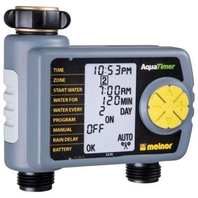 Melnor Automatic 2-Outlet Hose Timer | Irrigation, Drip irrigation ...