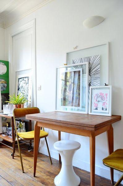 Small lowcost un piso en par s de 40 metros cuadrados for Metro cuadrado decoracion