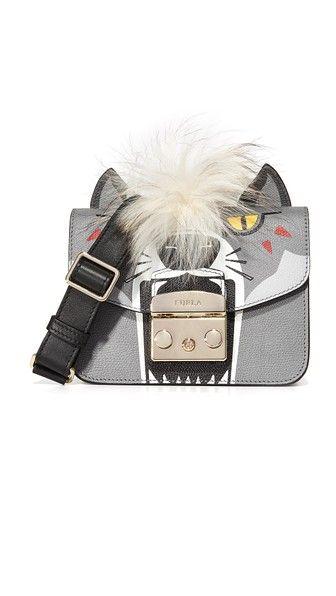 dcf1fd13ec78 Миниатюрная сумка через плечо Metropolis Jungle   Furla, Cross body ...