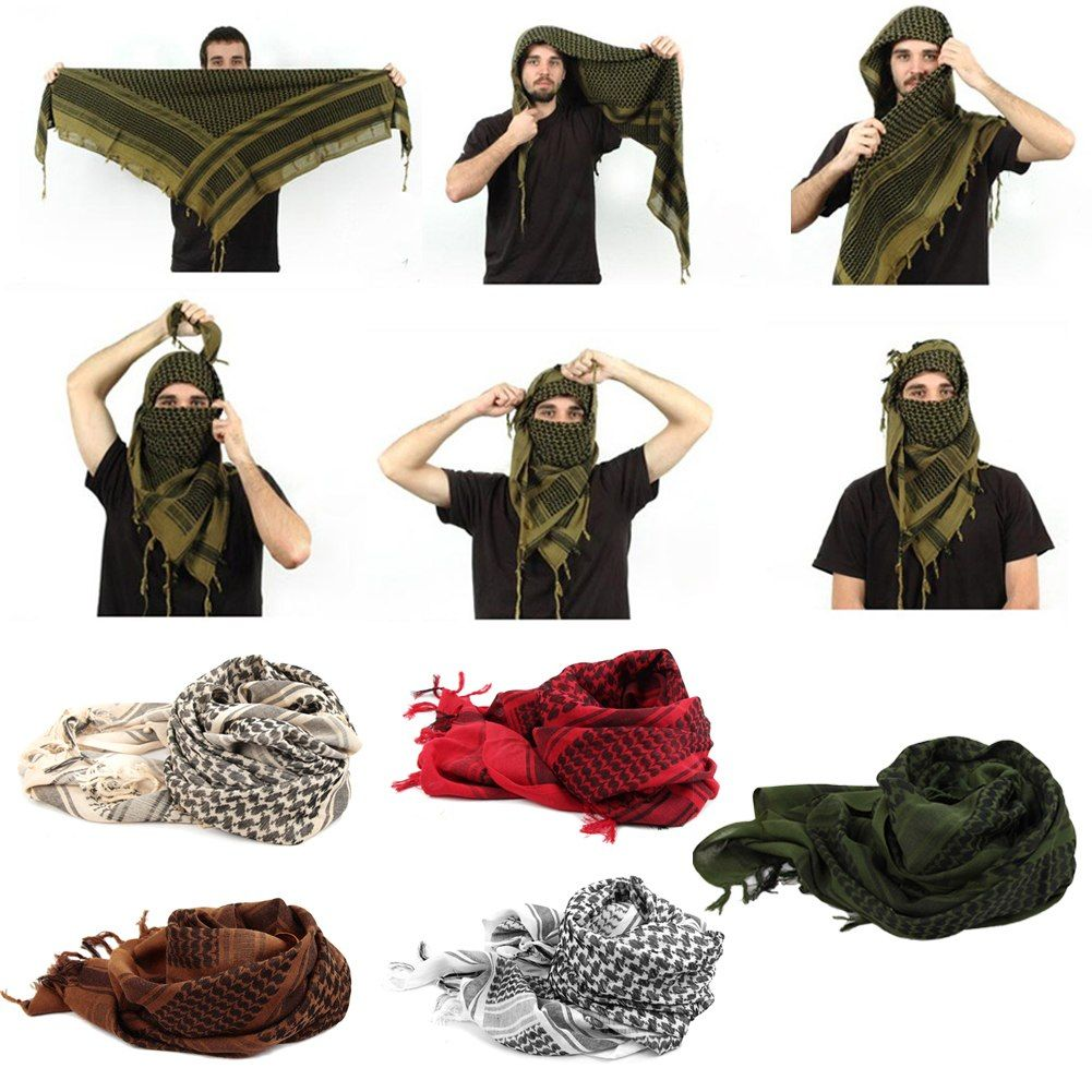 How to shemagh a wear scarf 2019