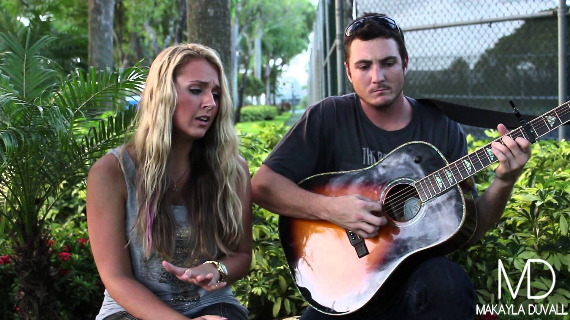 Wrecking Ball Miley Cyrus (Cover by Makayla Duvall & Ryan