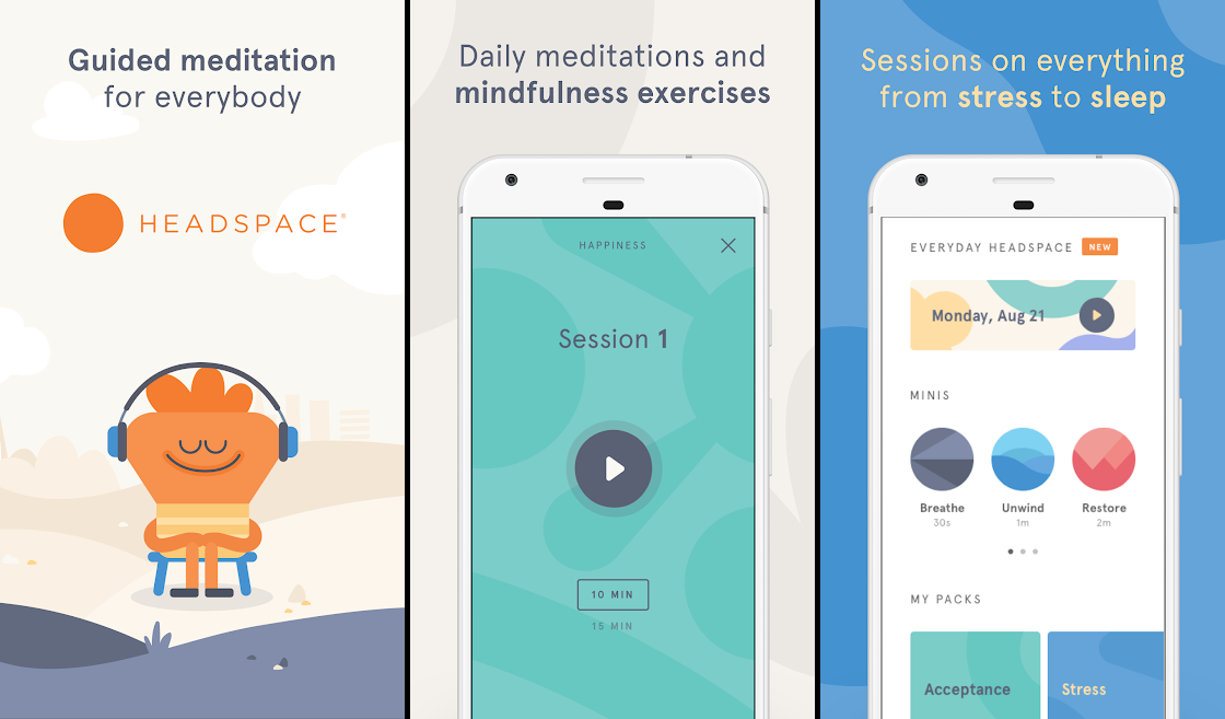 Best meditation apps to relieve stress and sleep