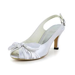 Women's Wedding Shoes Slingback Sandals Wedding Blue/Red/Ivory/White