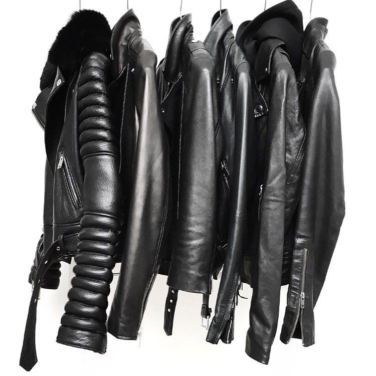 "Figtny on Instagram: ""Squad...✖️✖️ Leather Jacket Edit on figtny.com ! #leatherjacket #monocrome #figtny"""