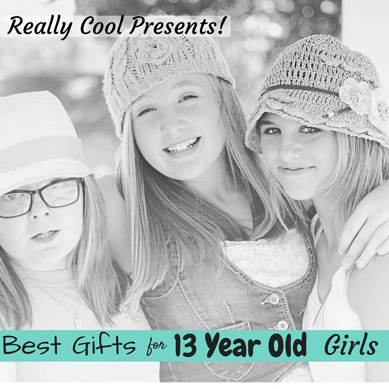 The Best Gifts for 13 Year Old GIrls!  Really Cool Presents she will love!  #TeenGifts #BestGifts