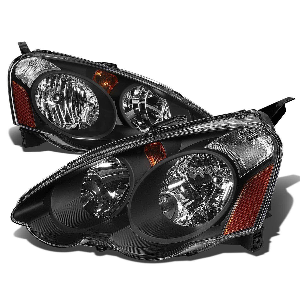 Spec-D 2002-2004 Acura RSX JDM Style Crystal Headlights