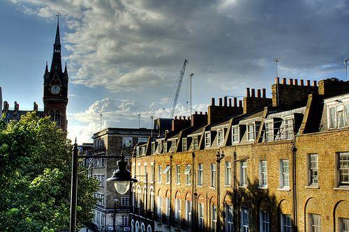 View from the Wardonia Hotel. London. Vista desde el hotel Wardonia | Flickr - Photo Sharing!