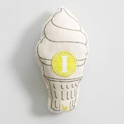 mozi :: baby rattle - ice cream