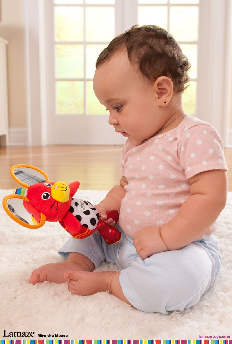 Miro The Mouse Has Mirror Ears Babyshowergifts Educationaltoys Babytoys Lamaze Baby Toys Baby Toys Lamaze Toys
