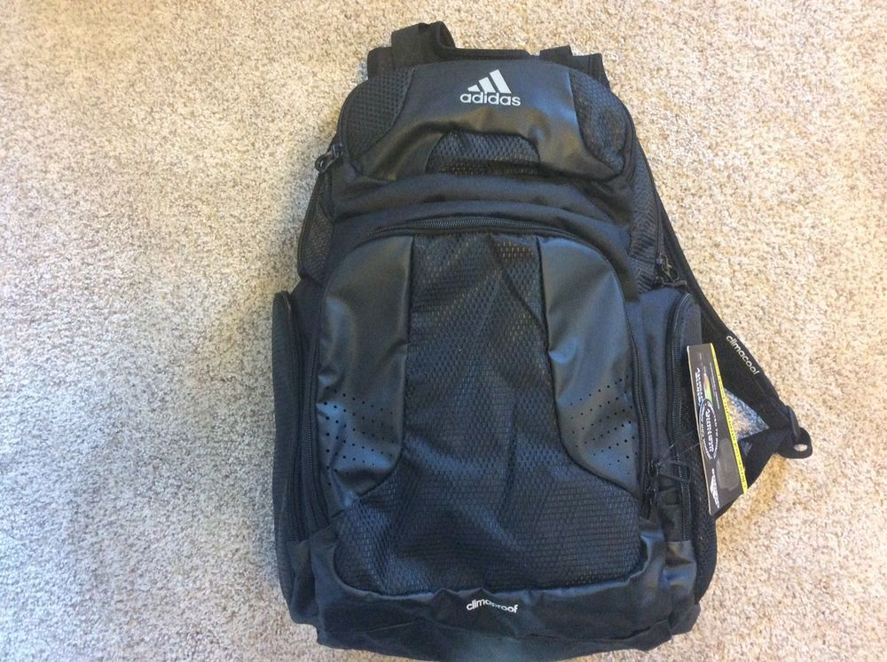 a091e52a940a NWT Adidas Climacool Strength Backpack - Black  fashion  clothing  shoes   accessories  unisexclothingshoesaccs  unisexaccessories (ebay link)