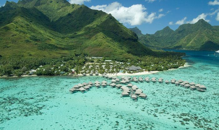 Hilton Moorea Lagoon Resort & Spa, my number one recommendation on Moorea. #honeymoon #tahiti