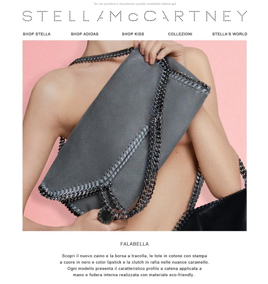 #newsletter Stella McCartney 03.2014  Hello Falabella
