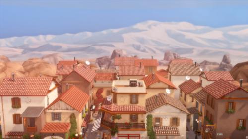 Vista Silegra Town Sims 4 In 2020 Sims Building Vista Sims 4
