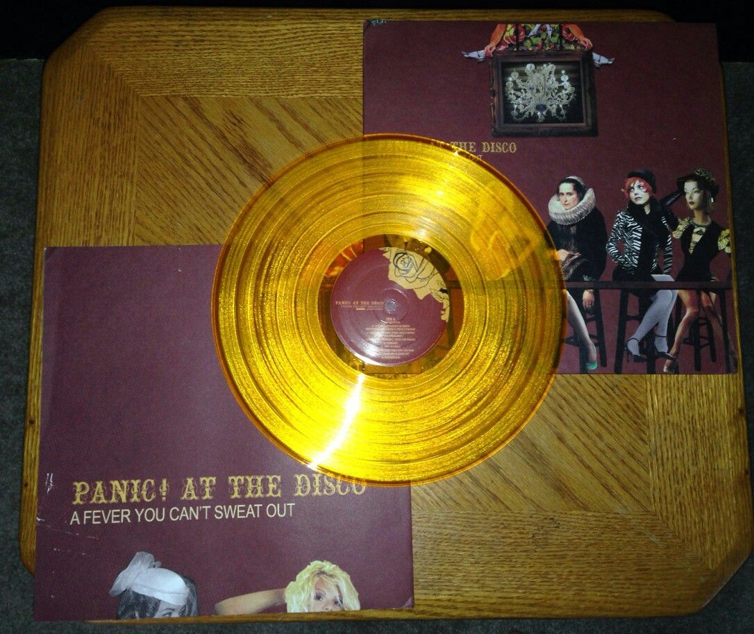 A Fever You Can T Sweat Out Panic At The Disco Vinyl Vinyl Record Album Panic At The Disco Emo Love