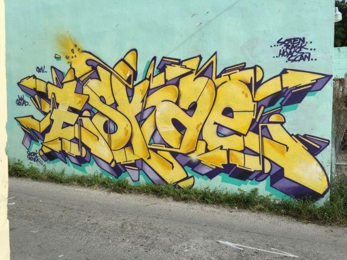 ESKAE STV-WH   Graffiti and Street art