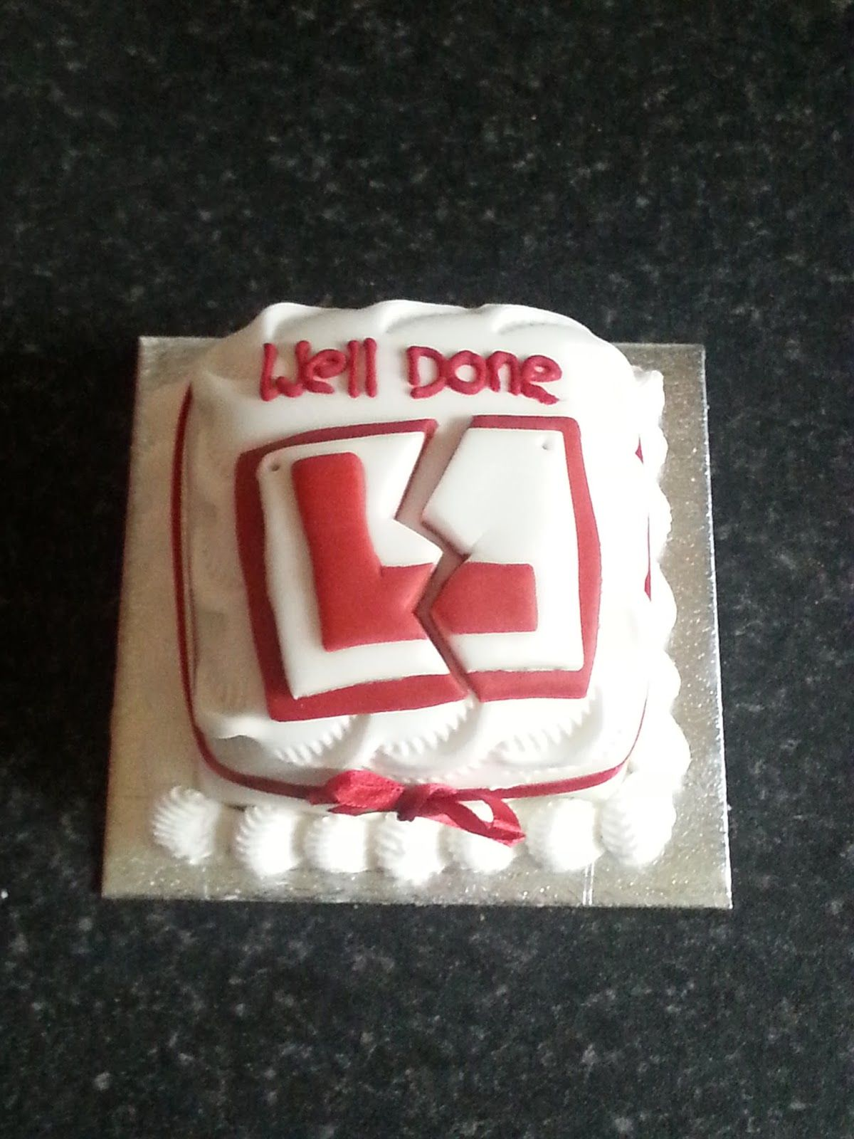 Ray\u0027s Place Designs Driving Test Pass Cake L Plate cake & Ray\u0027s Place Designs Driving Test Pass Cake L Plate cake | Food ...