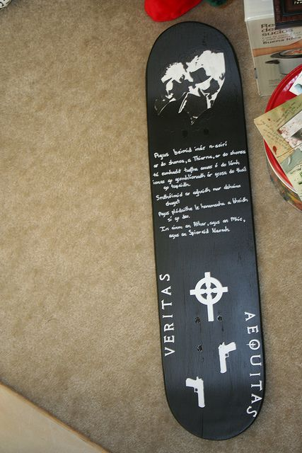 MY version of the Boondock Saints wall art (prayer is in Irish Gaelic) & Boondock Saints Wall Art | Saints