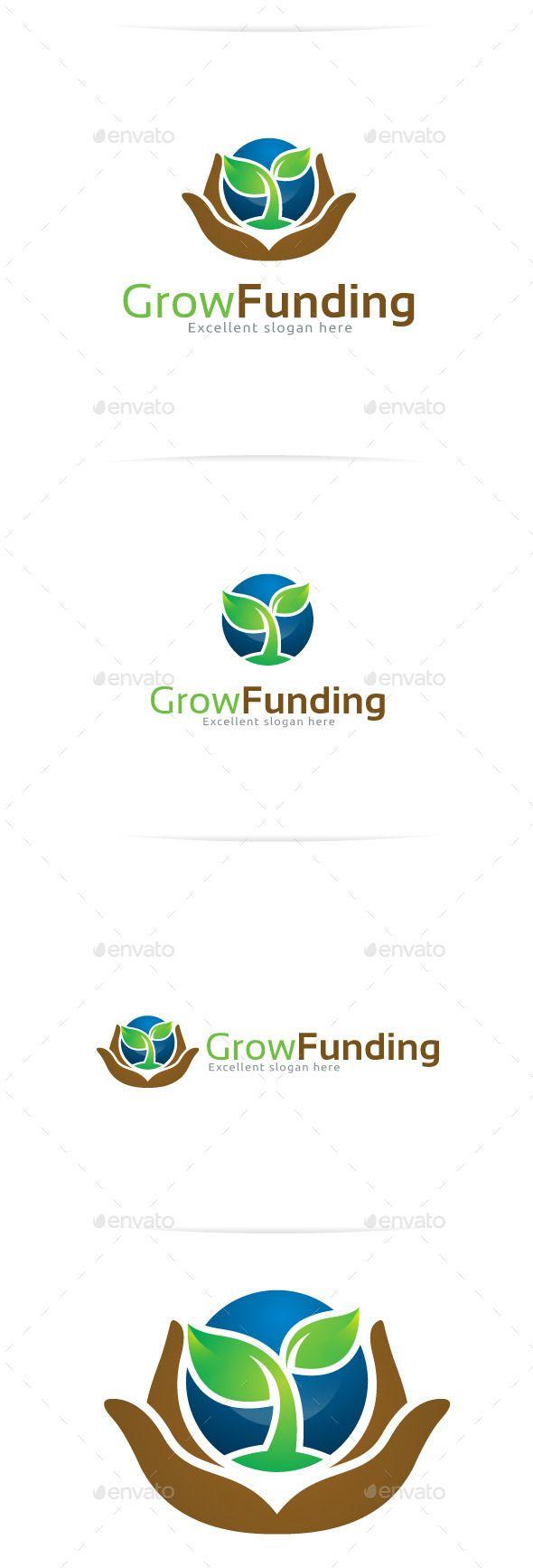 Grow Funding Logo Templates