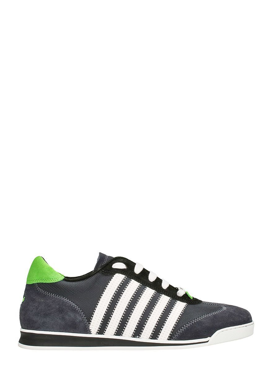 Dsquared2RAPPER'S DELIGHT STRIPE LEATHER SNEAKERS