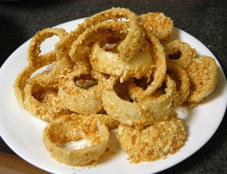 Oven-Fried Onion Rings - Test Recipes - Cooking For Engineers