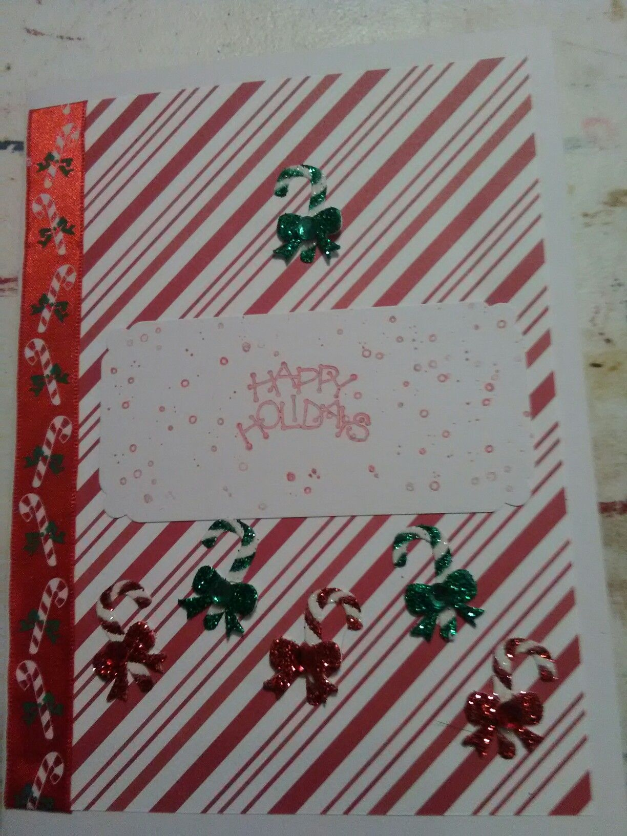 Candy cane wishes Cards, Candy cane, Candy