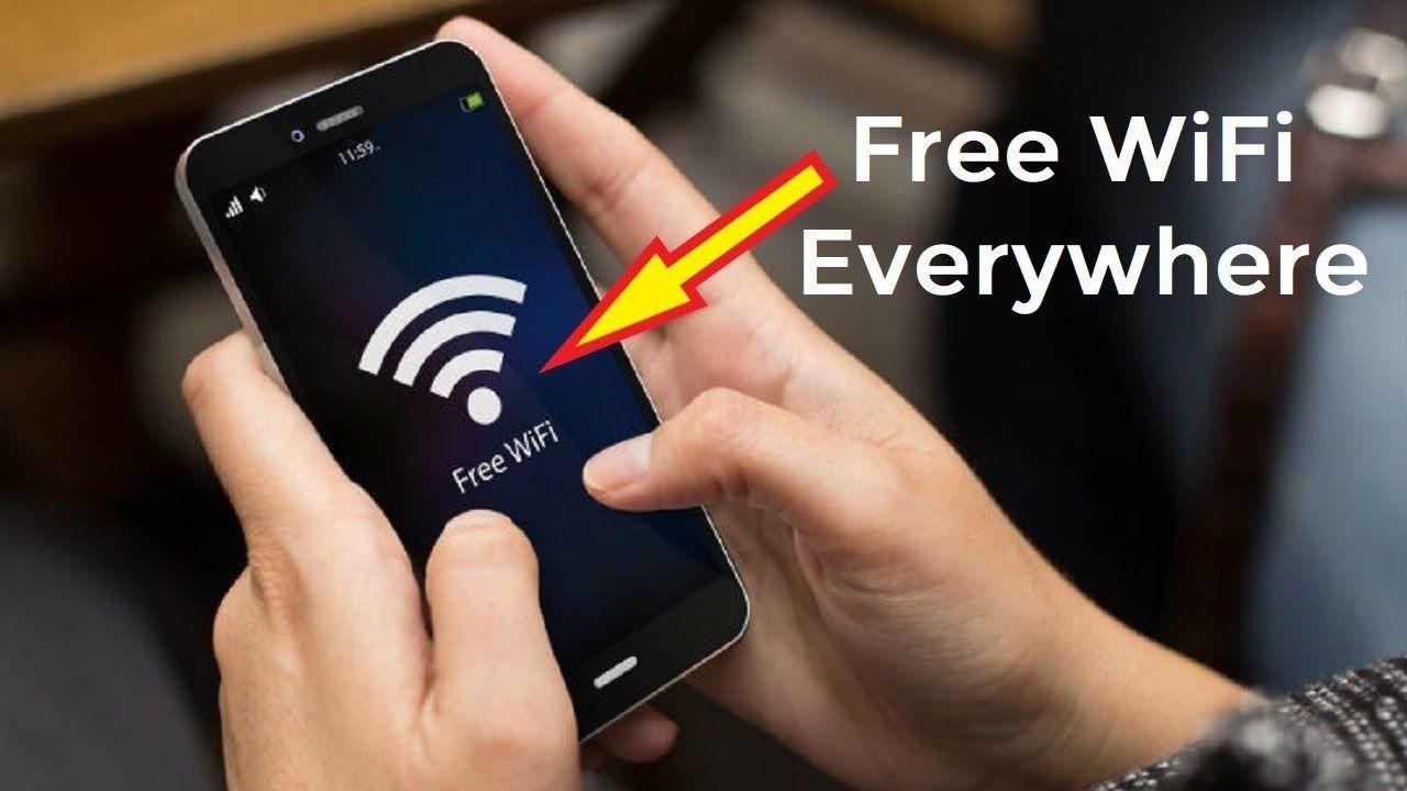Free wifi anywhere anytime hotspot wifi wifi free wifi