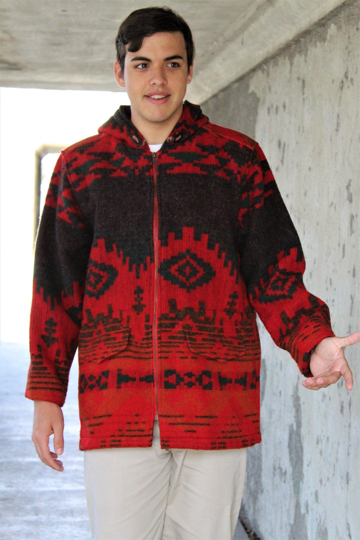 Long jacket woolrich medium hooded coat men hooded jacket warm