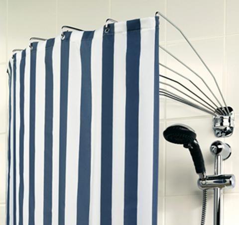 Der Duschvorhang Aufhangesysteme Und Modelle Schoner Wohnen