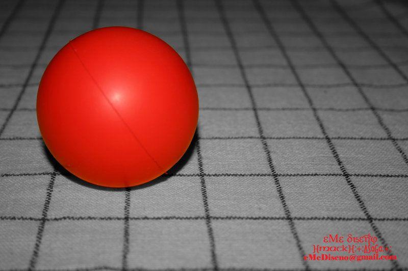 Juegos de pelotas de color rojo
