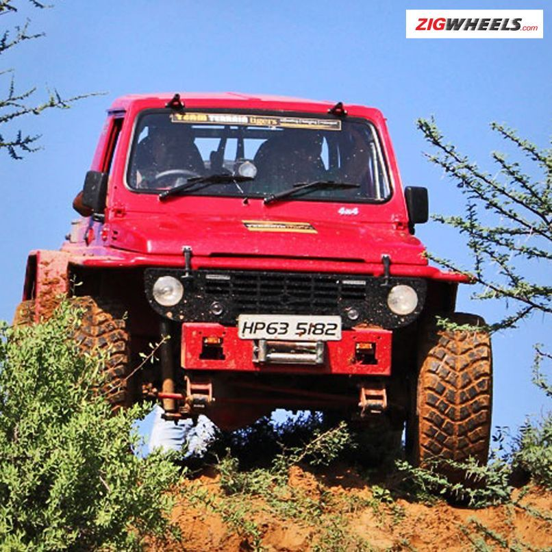 Carefree Driving With The Monster Maruti Suzuki Gypsy S Heavily