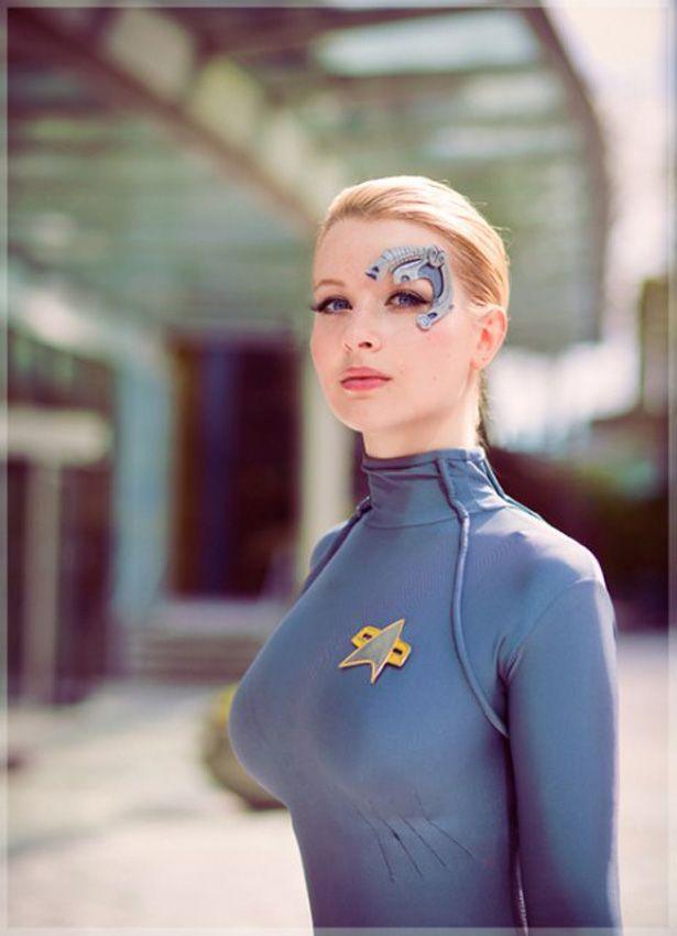 9 Best Images About Istanbul: Cosplayer Sexy: Seven Of Nine De Star Trek Voyager