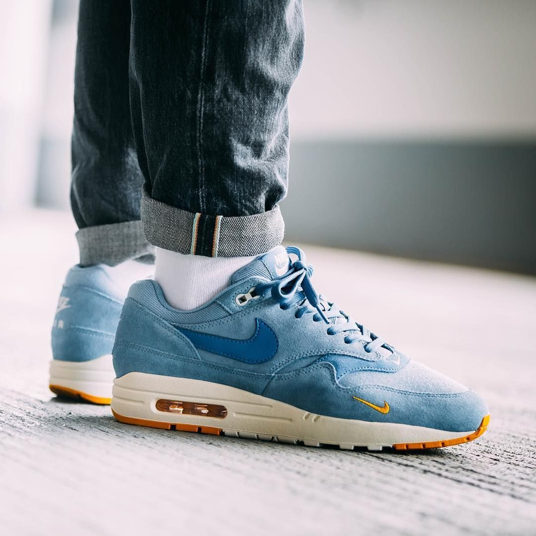 nike air max 1 premium work blue