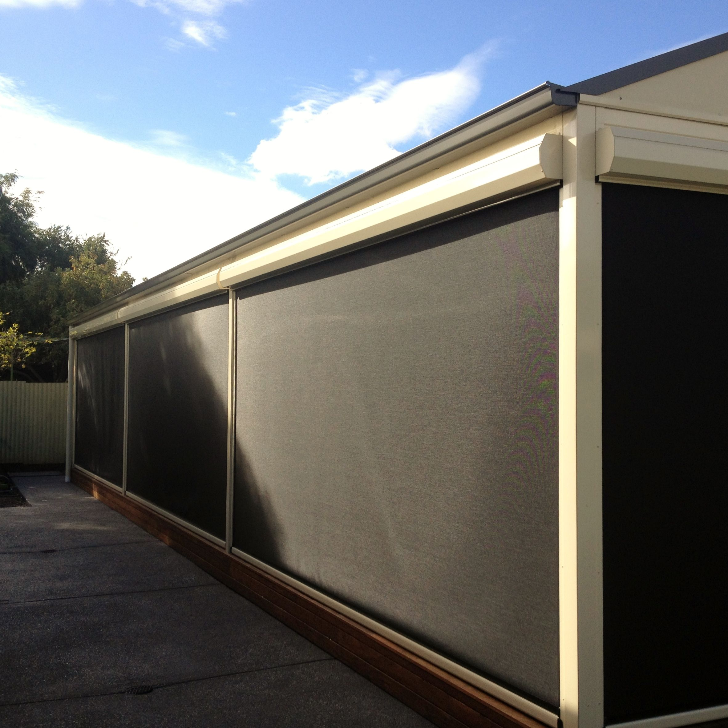 Dmv Pergolas With Decks And Blinds Enhance Your Home With Dmv