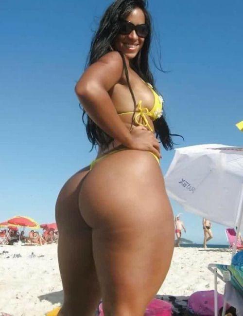 Brazilian bikini ass
