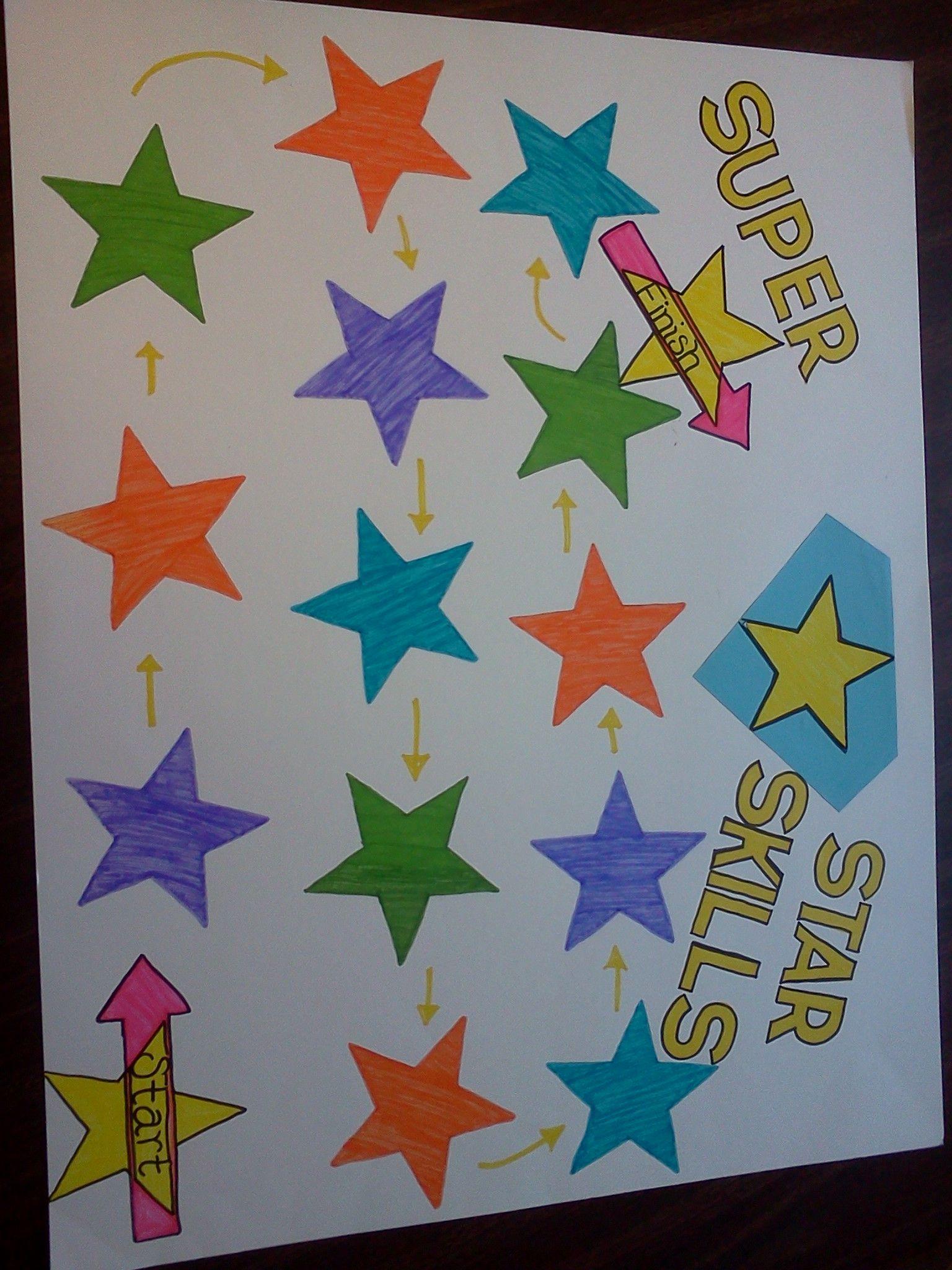 Super Star Coping Skills Game