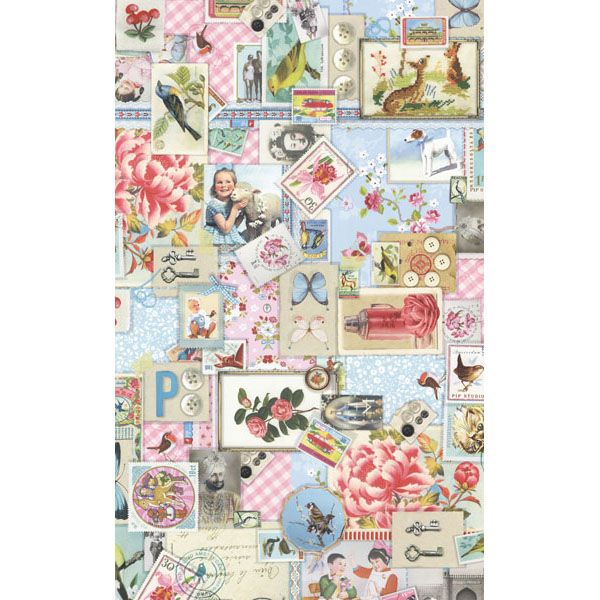 313104 Pastel Sweet Memories - Eijffinger Wallpaper